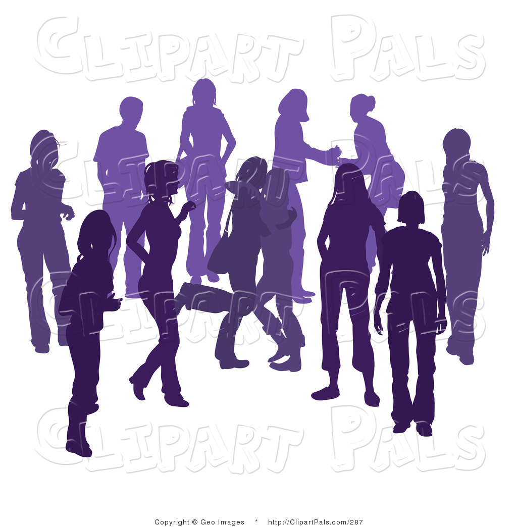 People Partying Clip Art