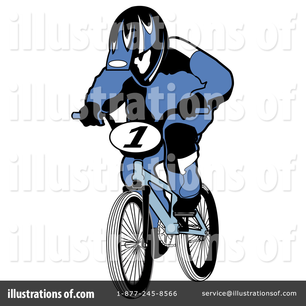 Royalty Free  Rf  Bike Clipart Illustration By Andy Nortnik   Stock