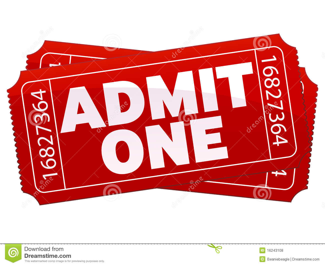 Theater Tickets Royalty Free Stock Photos   Image  16243108