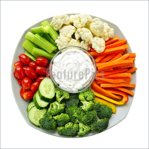 Veggie Dip Clip Art Fresh Vegetables With Dip