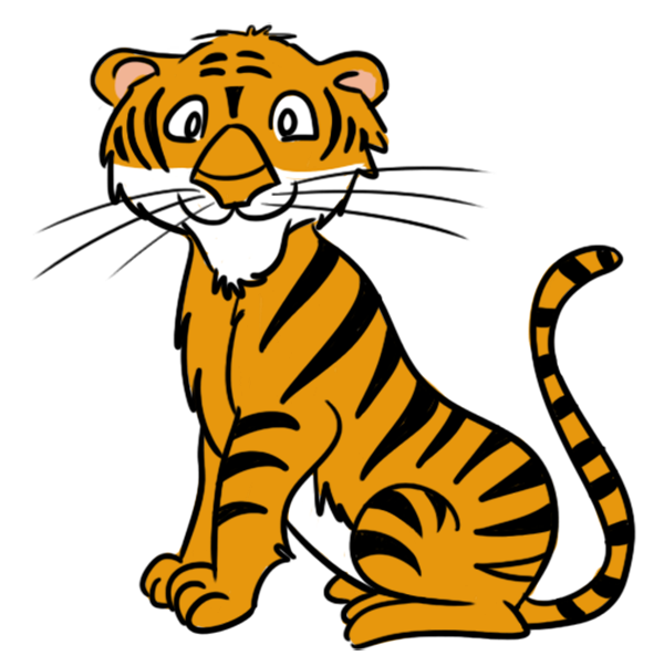 19 Images Of Cartoon Baby Tiger   You Can Use These Free Cliparts For