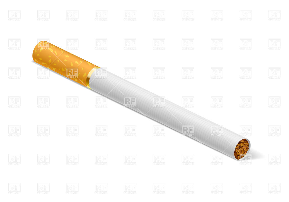 Cigarette 20515 Objects Download Royalty Free Vector Clipart  Eps
