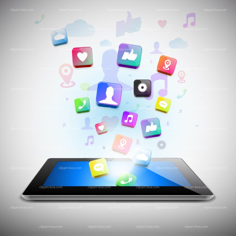 Tablet User Clipart - Clipart Suggest