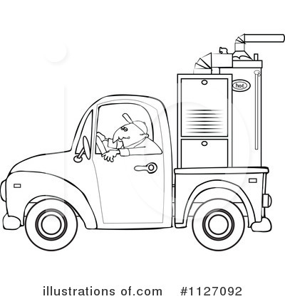 Royalty Free  Rf  Driver Clipart Illustration By Djart   Stock Sample