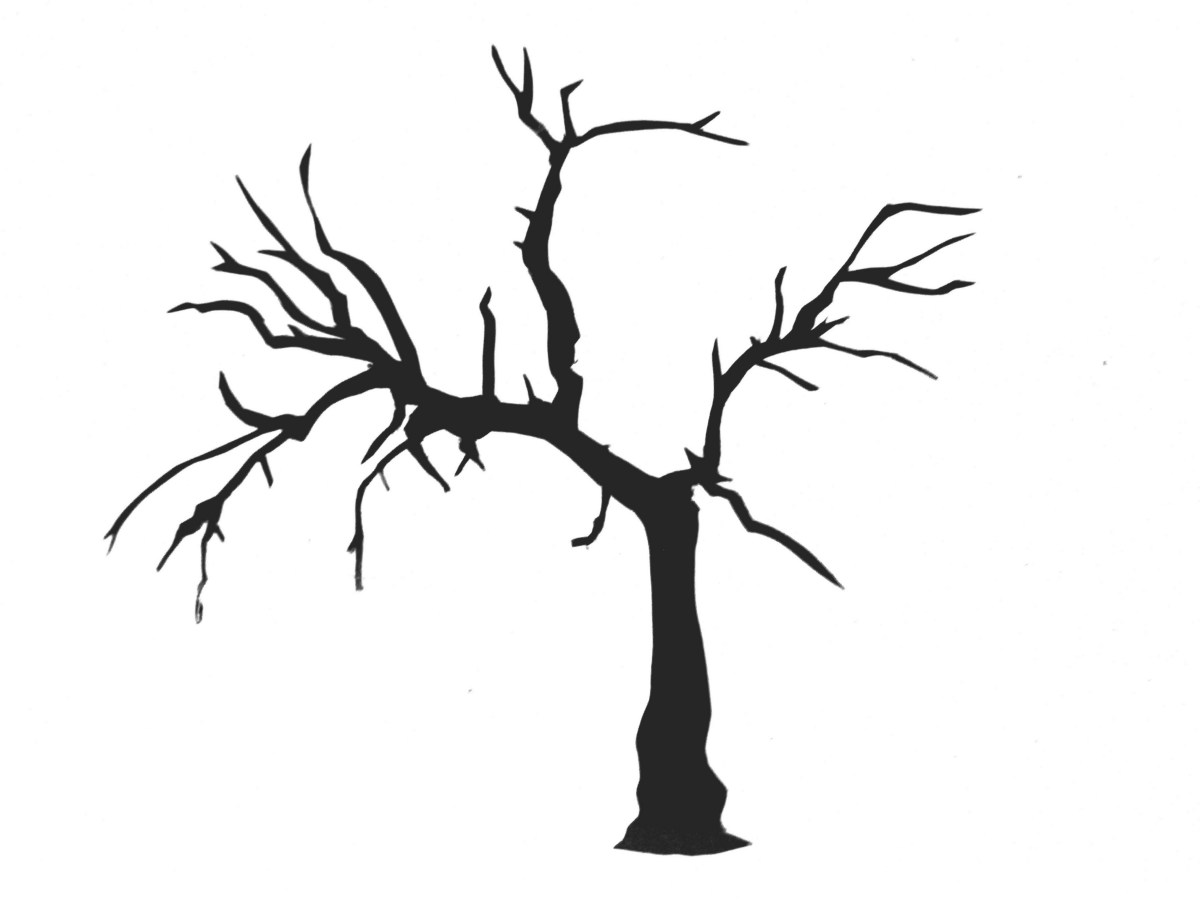 Simple Tree Silhouette Clipart Best
