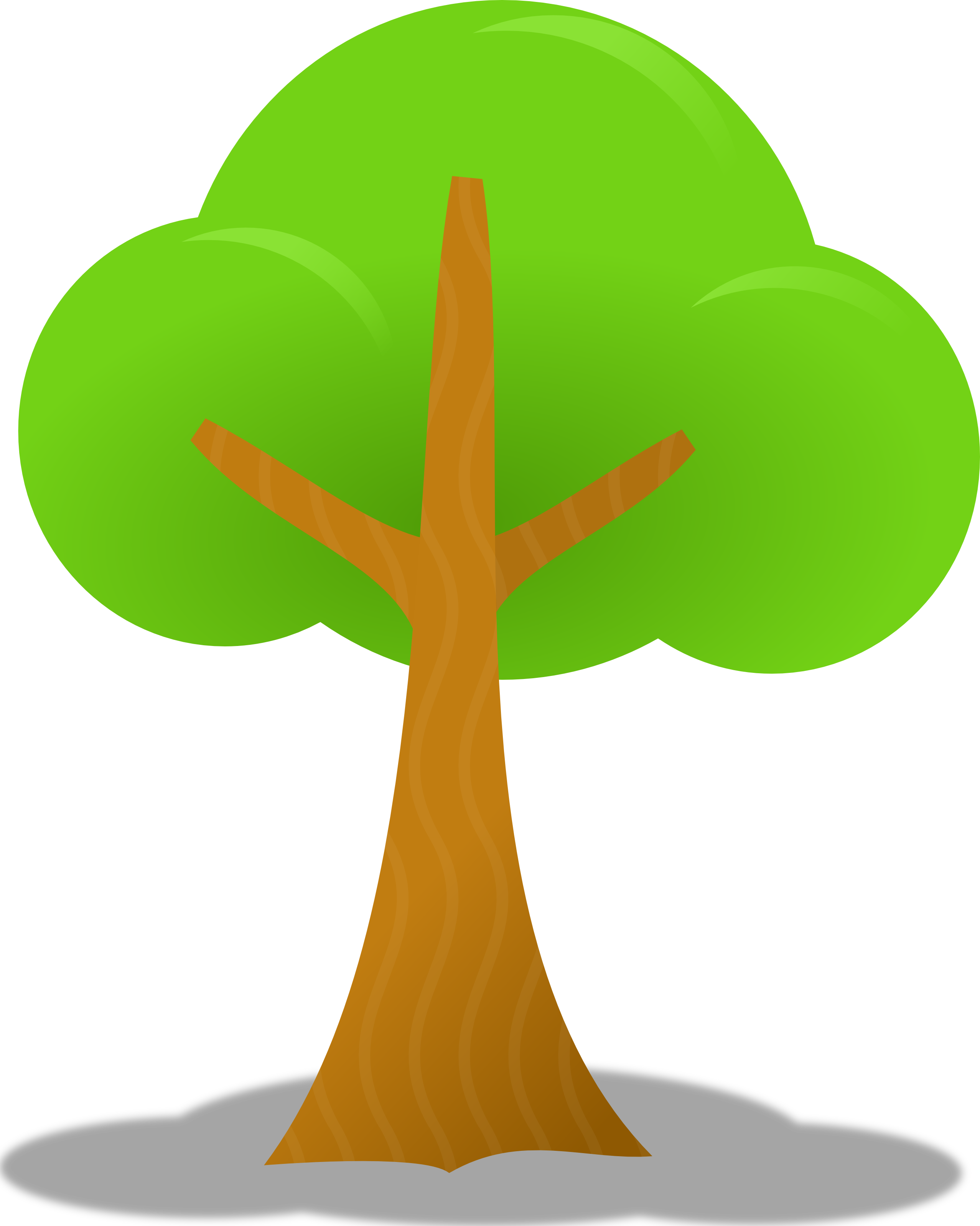 Simple Tree Clipart - Clipart Kid