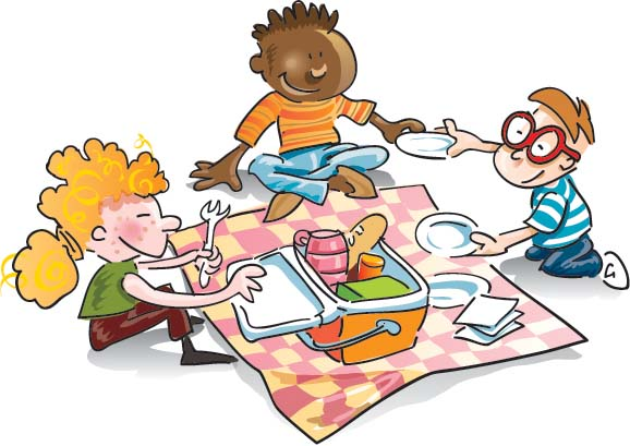 Family Picnic Clipart - Clipart Kid