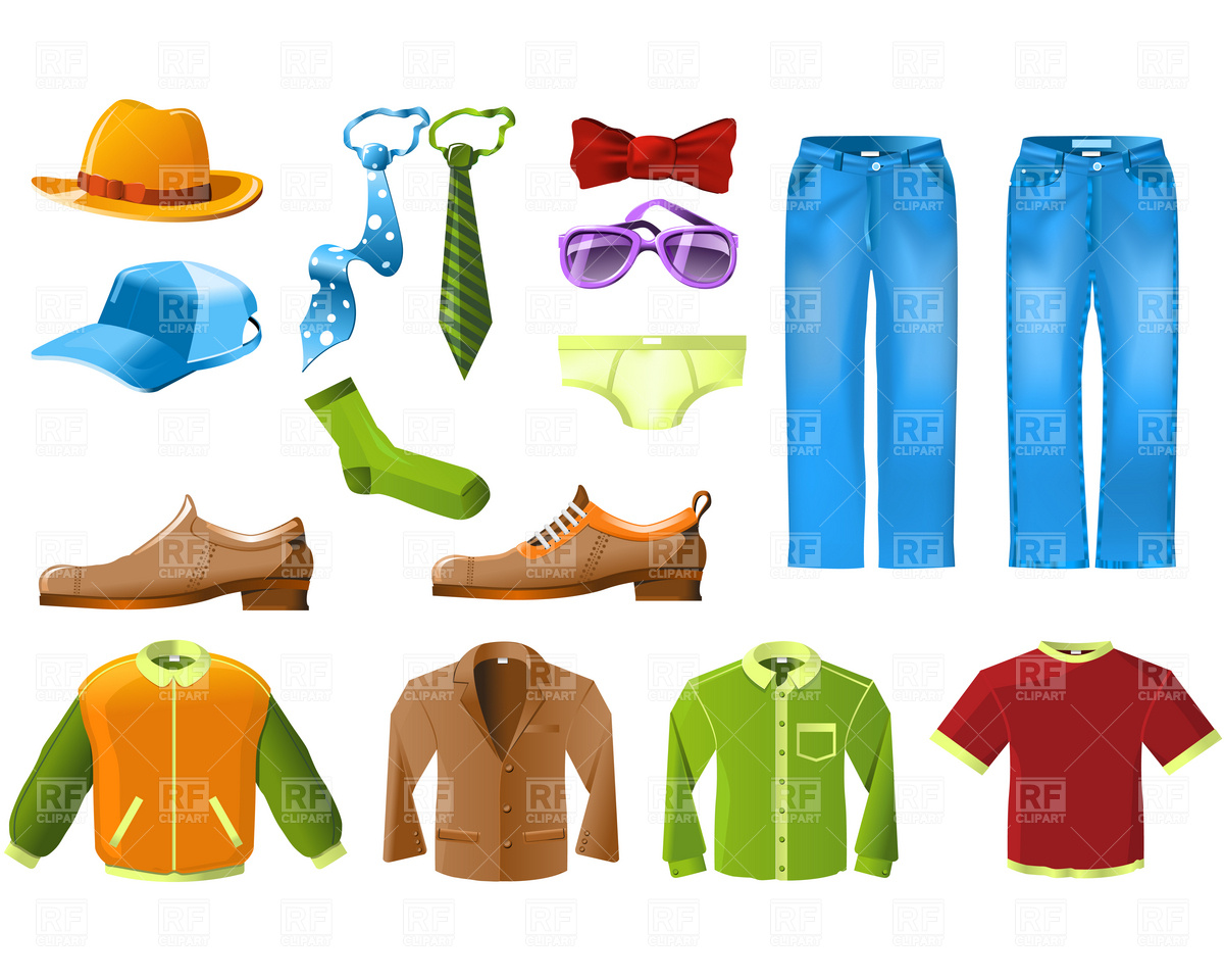 Men Clothes Shopping Clipart - Clipart Kid
