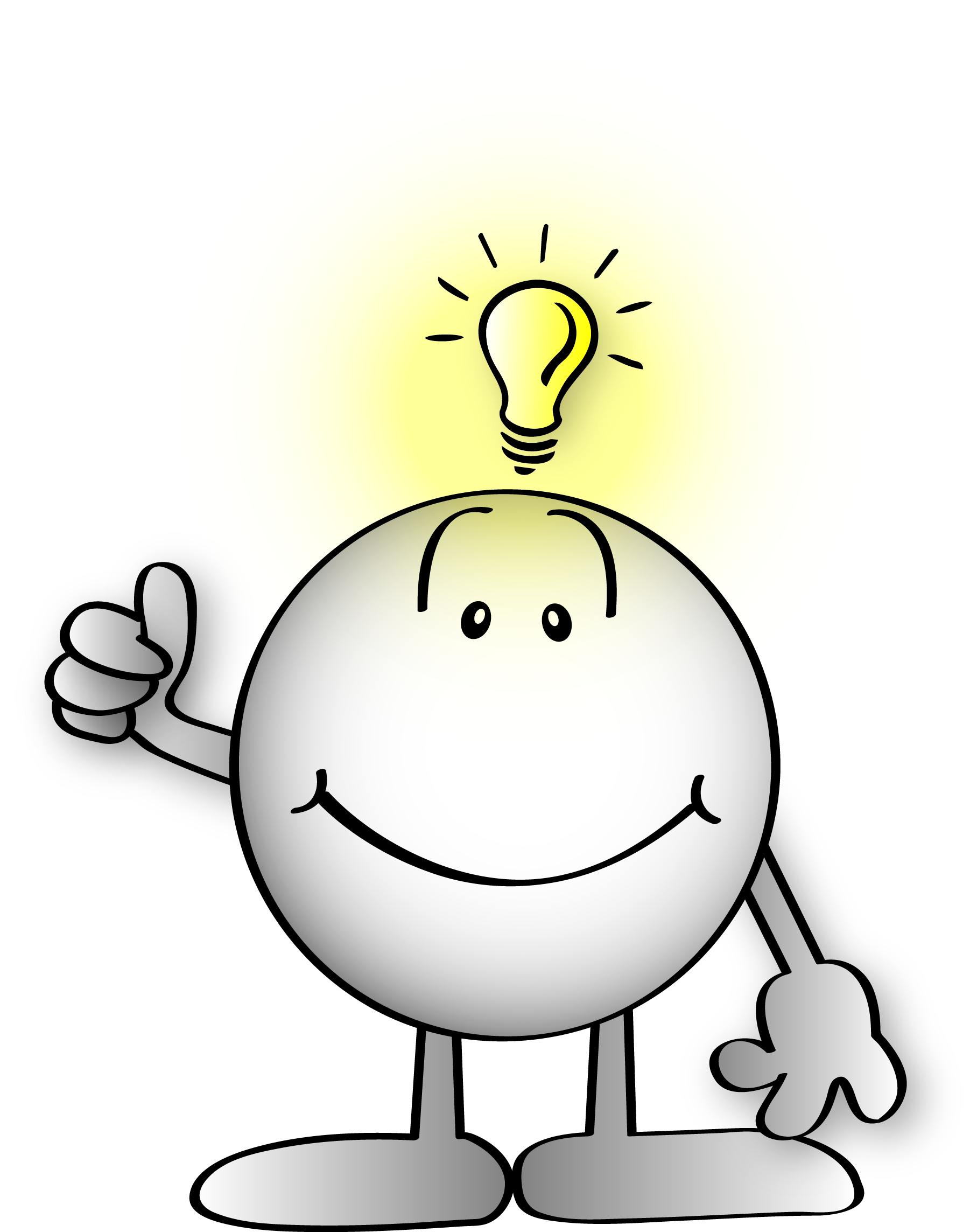 Bright Idea Clipart Gallery For   Bright Idea