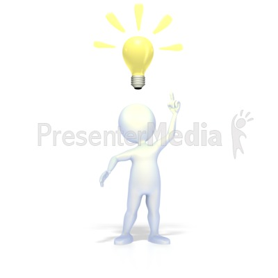 Bright Idea   Science And Technology   Great Clipart For Presentations