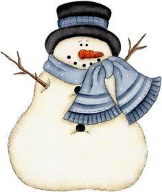 Christmas Snowman Clip Art #2Wk86F - Clipart Kid