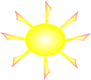 Free Clipart Of Sun Bright Yellow Clipart Of The Sun If You