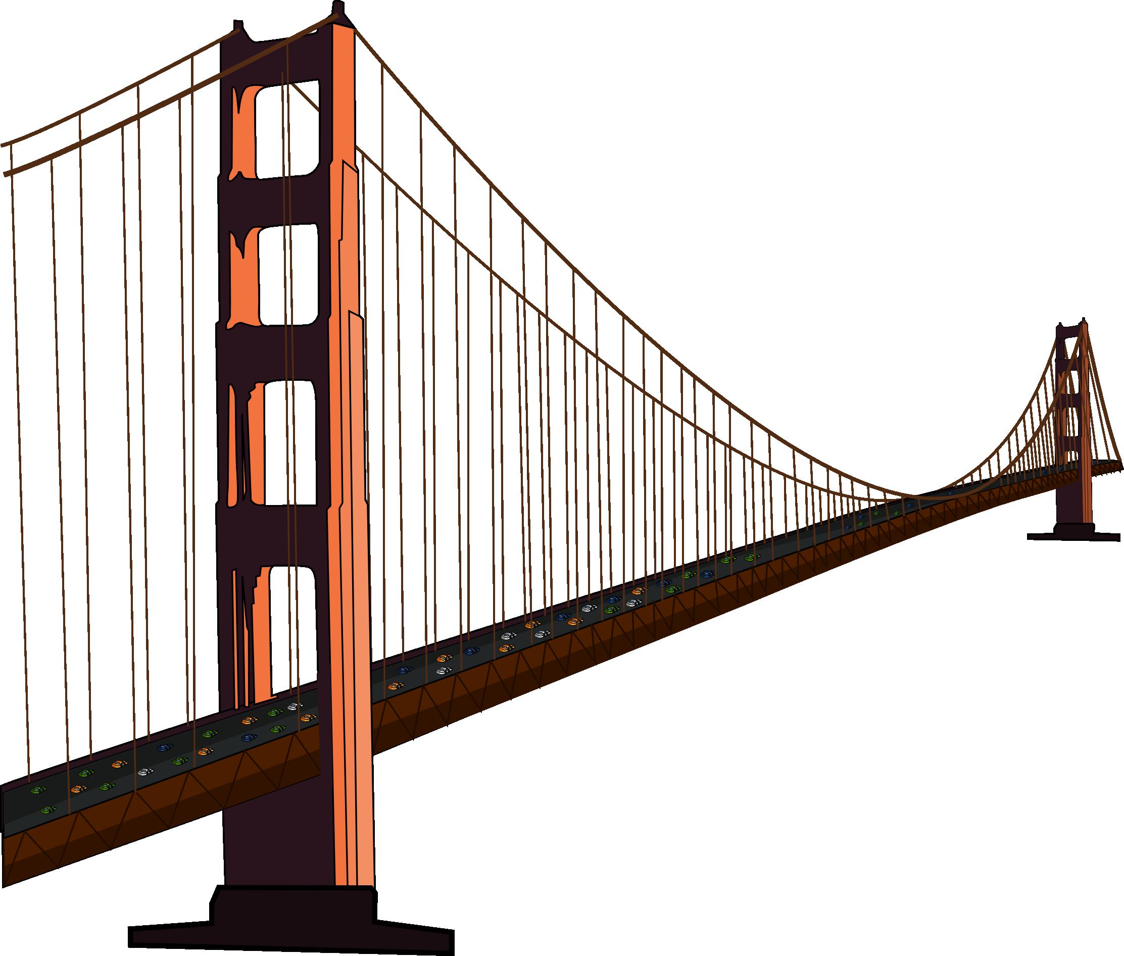 Clip Art Golden Gate Bridge Clipart golden gate bridge clipart kid free clip art