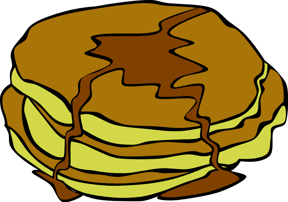 Free Pancakes For Breakfast Clip Art