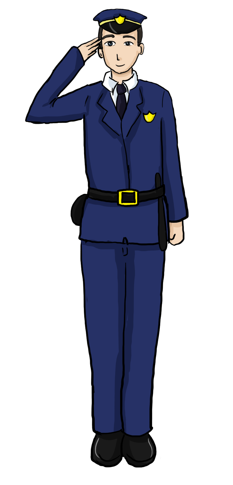 Clip Art Police Officer Uniform Clipart - Clipart Suggest
