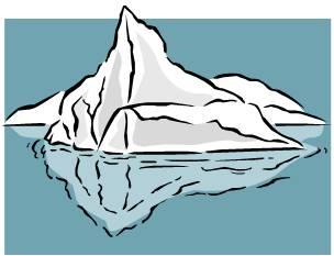 Clip Art Iceberg Clipart iceberg clipart kid clip art