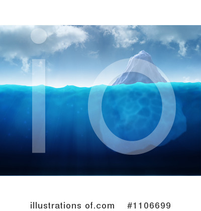Iceberg Clipart  1106699 By Mopic   Royalty Free  Rf  Stock