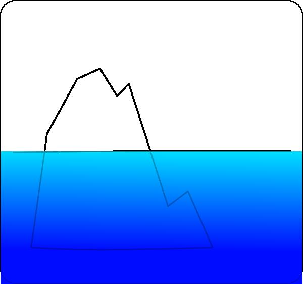 Iceberg Clipart - Clipart Kid