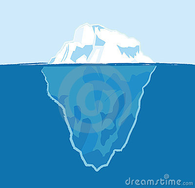 Iceberg Stock Vectors And Illustrations