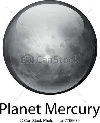 mercury planet clipart - photo #43