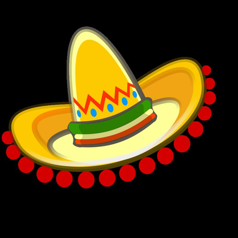 Mexican Sombrero Clipart - Clipart Kid