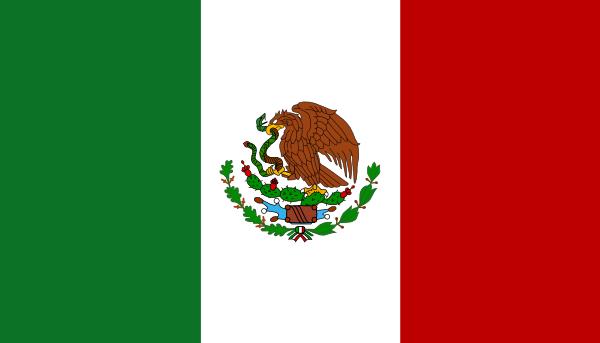 Mexico Flag Clipart - Clipart Kid