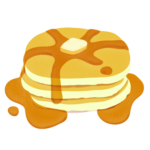 Pancake With Syrup Clip Art