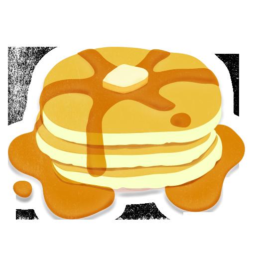 Clip Art Cartoon Pancakes Clipart - Clipart Kid