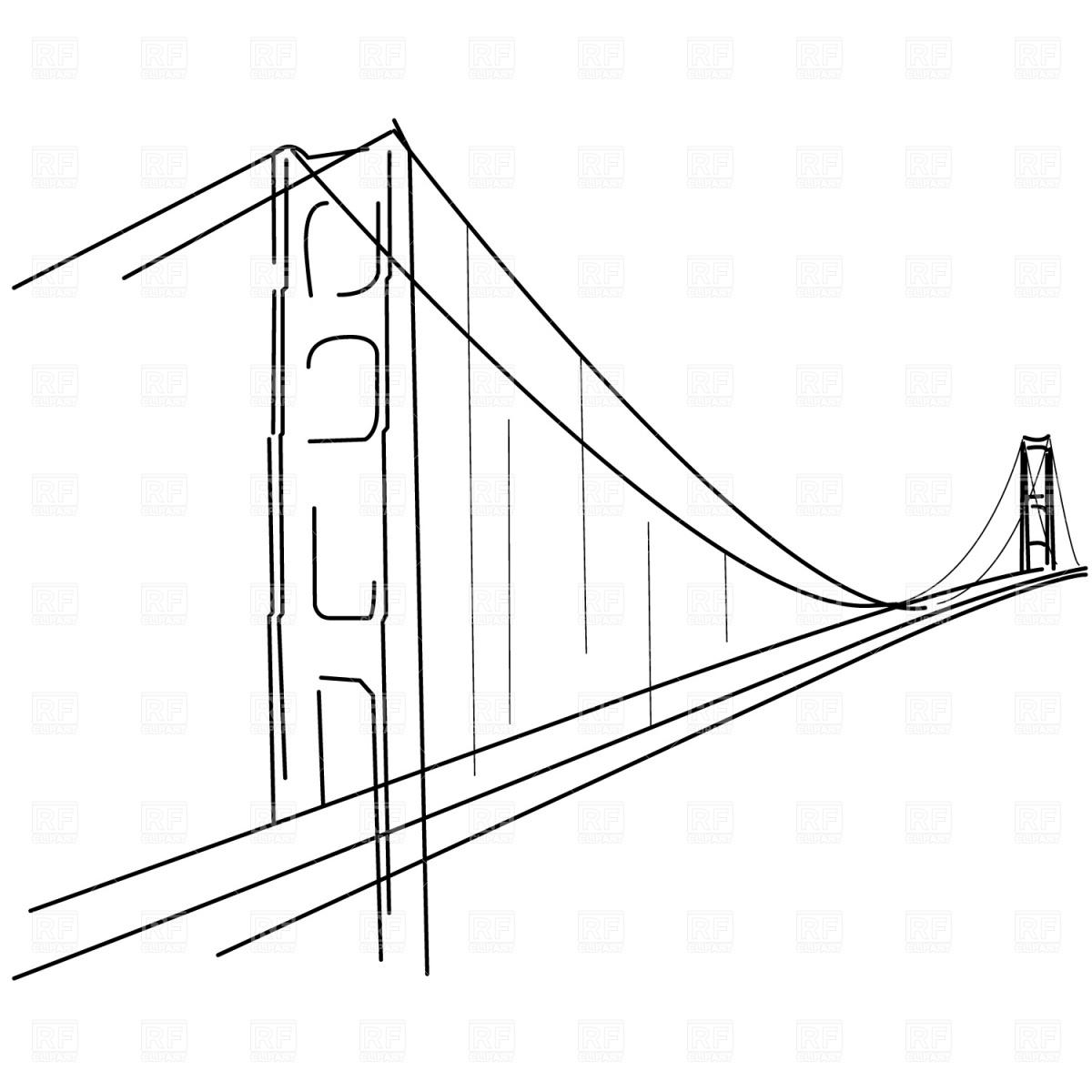 Clip Art Golden Gate Bridge Clipart golden gate bridge clipart kid royalty free clipart