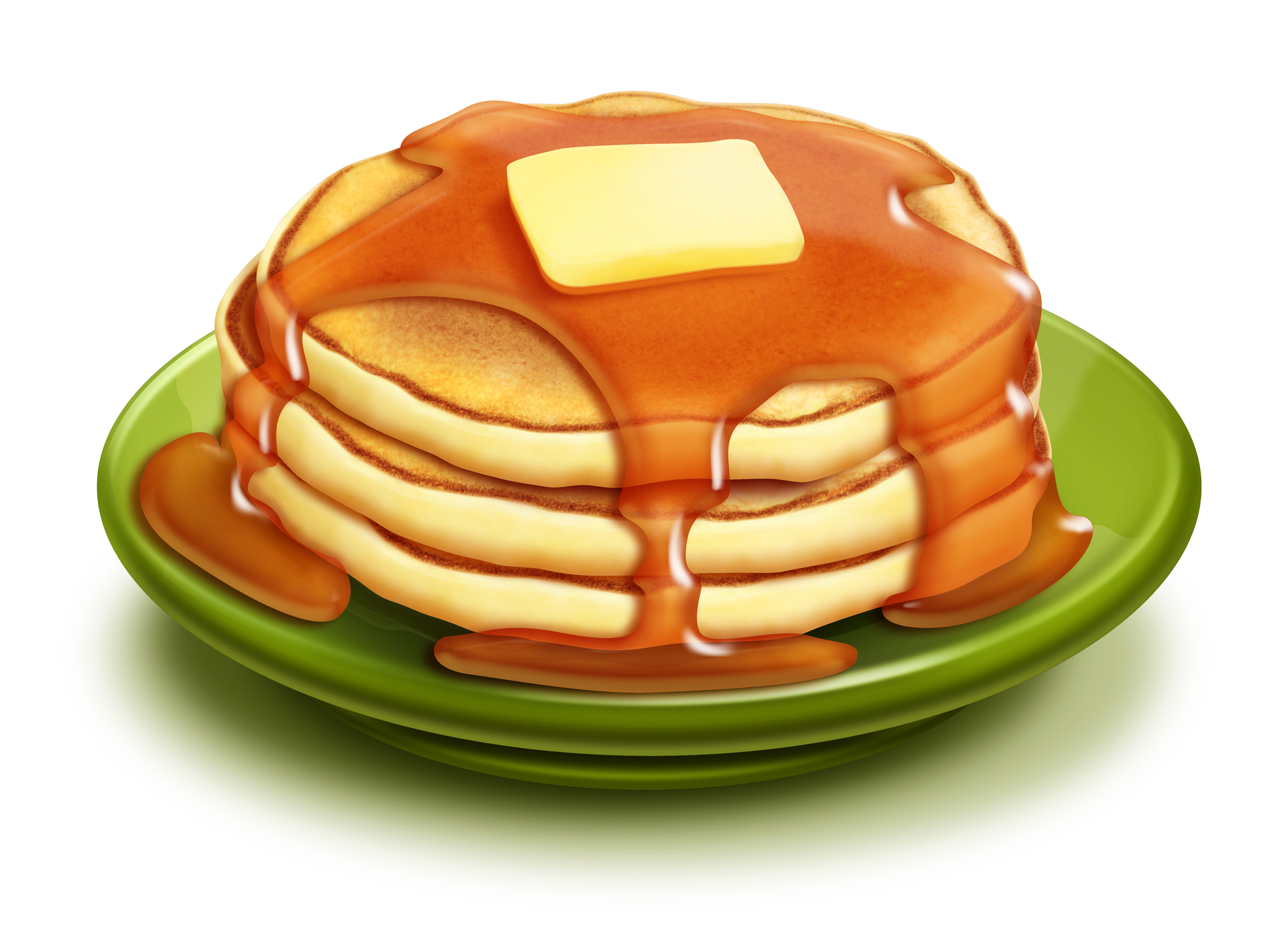 Stack Of Pancakes Clipart - Clipart Kid