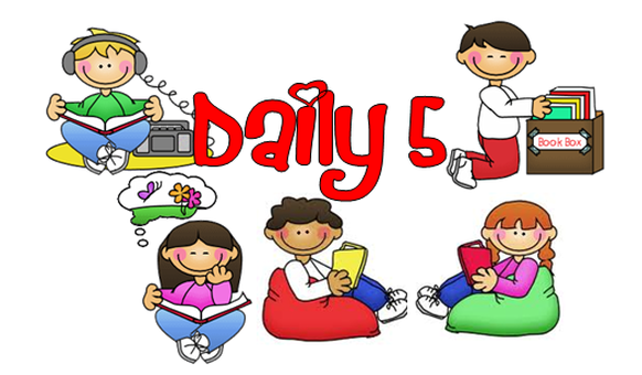 Image result for daily five clip art