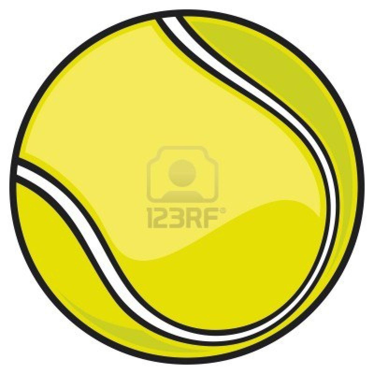 Tennis Ball Clipart Black And White   Clipart Panda   Free Clipart