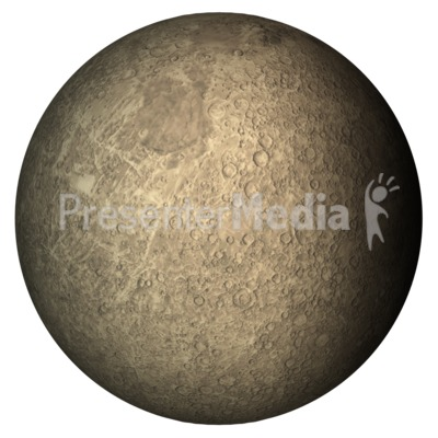 The Planet Mercury   Science And Technology   Great Clipart For