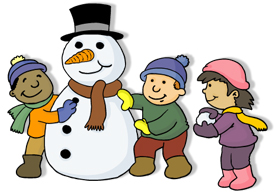 January Cartoon Clipart - Clipart Kid