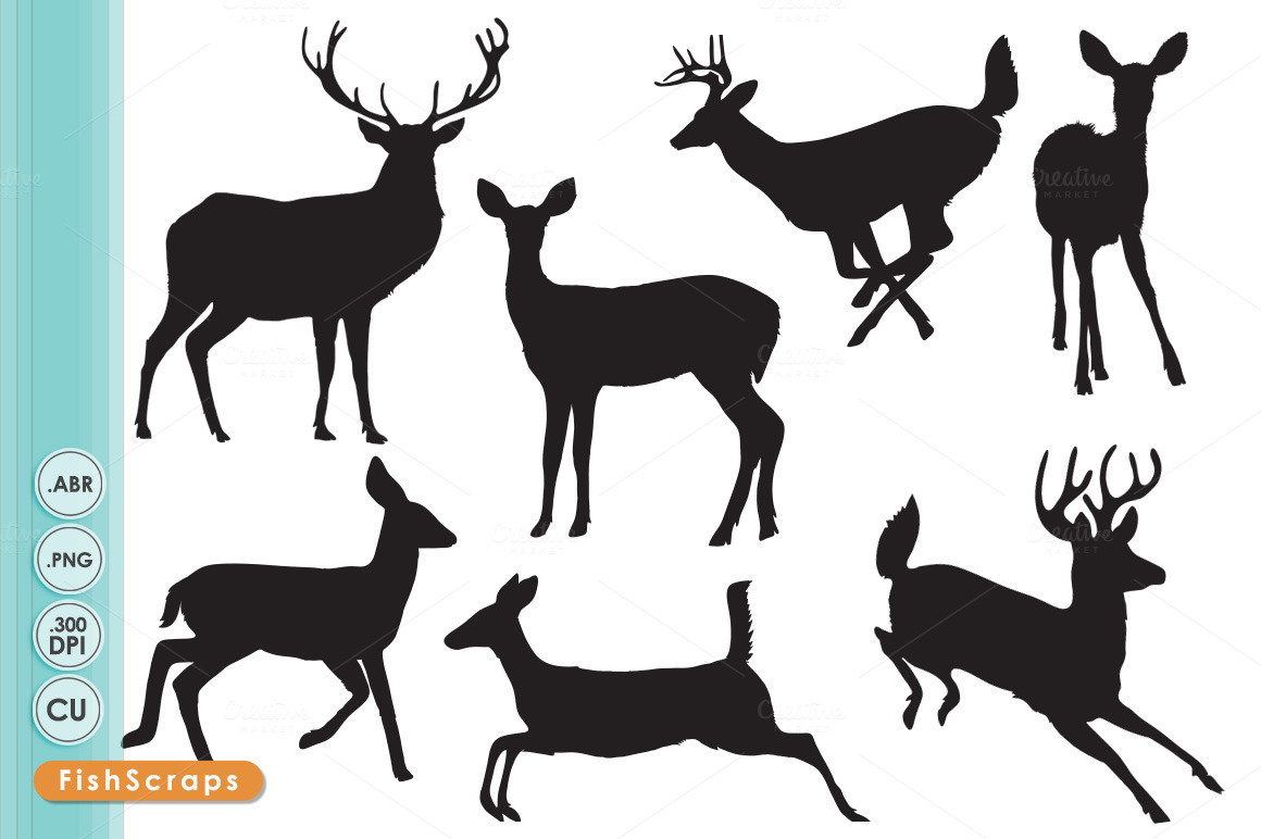 Deer Family Clipart - Clipart Kid