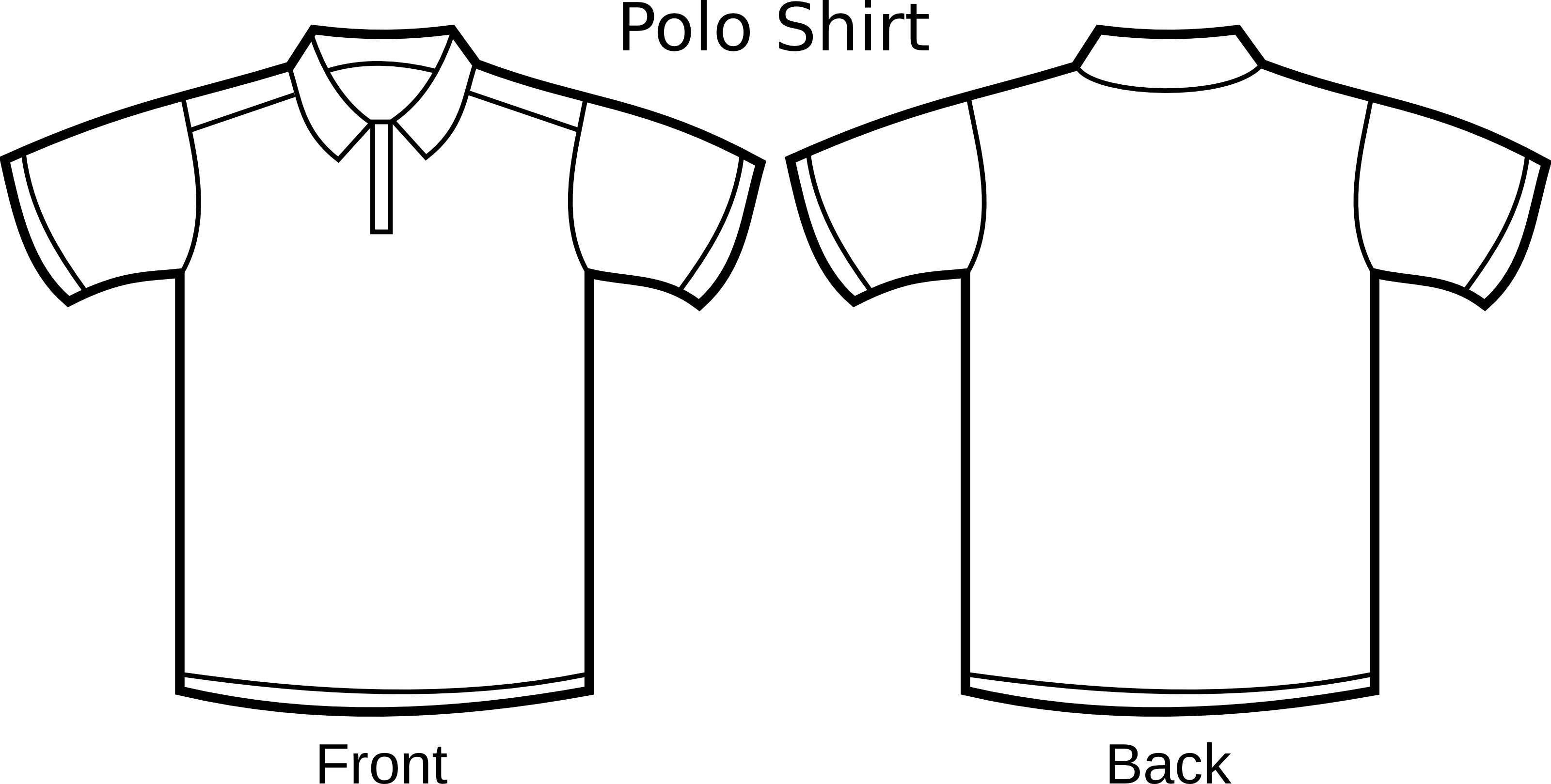 Free Polo Shirt Template Clipart Illustration   Free Images At Clker