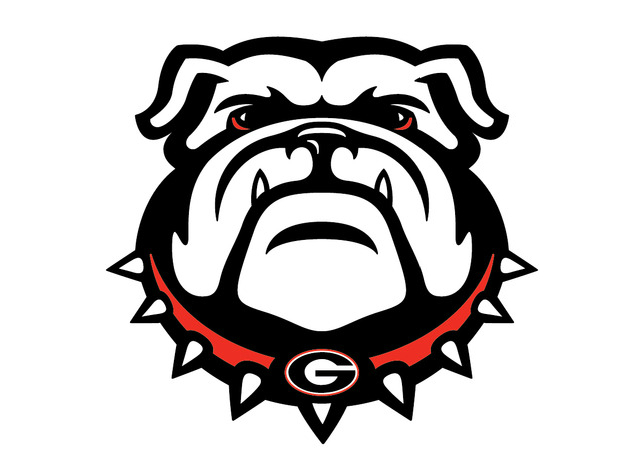 Georgia Bulldog Mascot Colouring Pages  Page 2