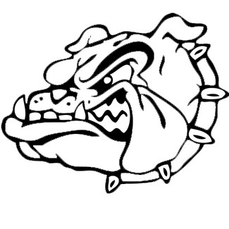 Georgia Bulldogs Colouring Pages