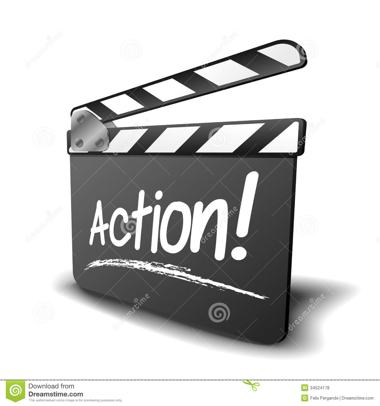 Action Sign Clipart - Clipart Kid