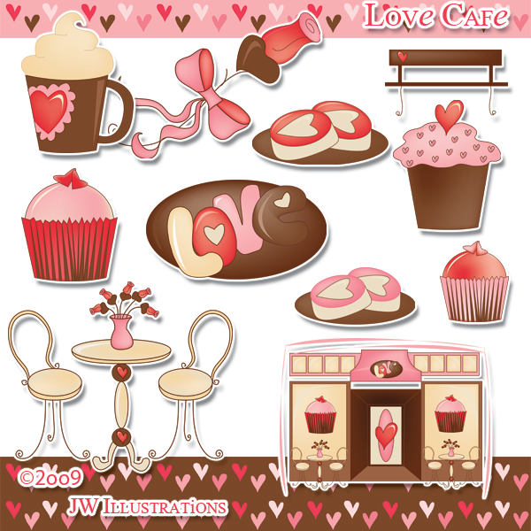 Love Cafe Clipart By Jddoodles On Deviantart