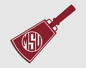 Monogram Mississippi State Bulldogs Vector Art Files Dxf Svg Use