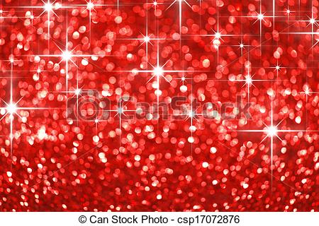 Picture Of Red Glitter Background   Red Shiny Glitter Stars Holiday