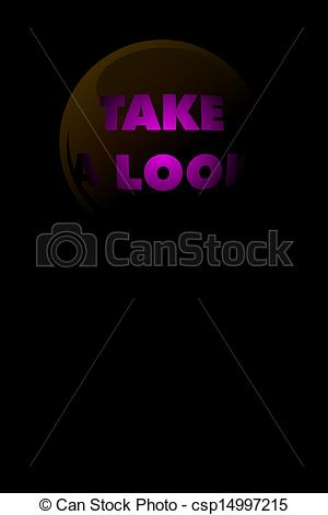 Take A Look Clipart Take A Look Icon   Csp14997215