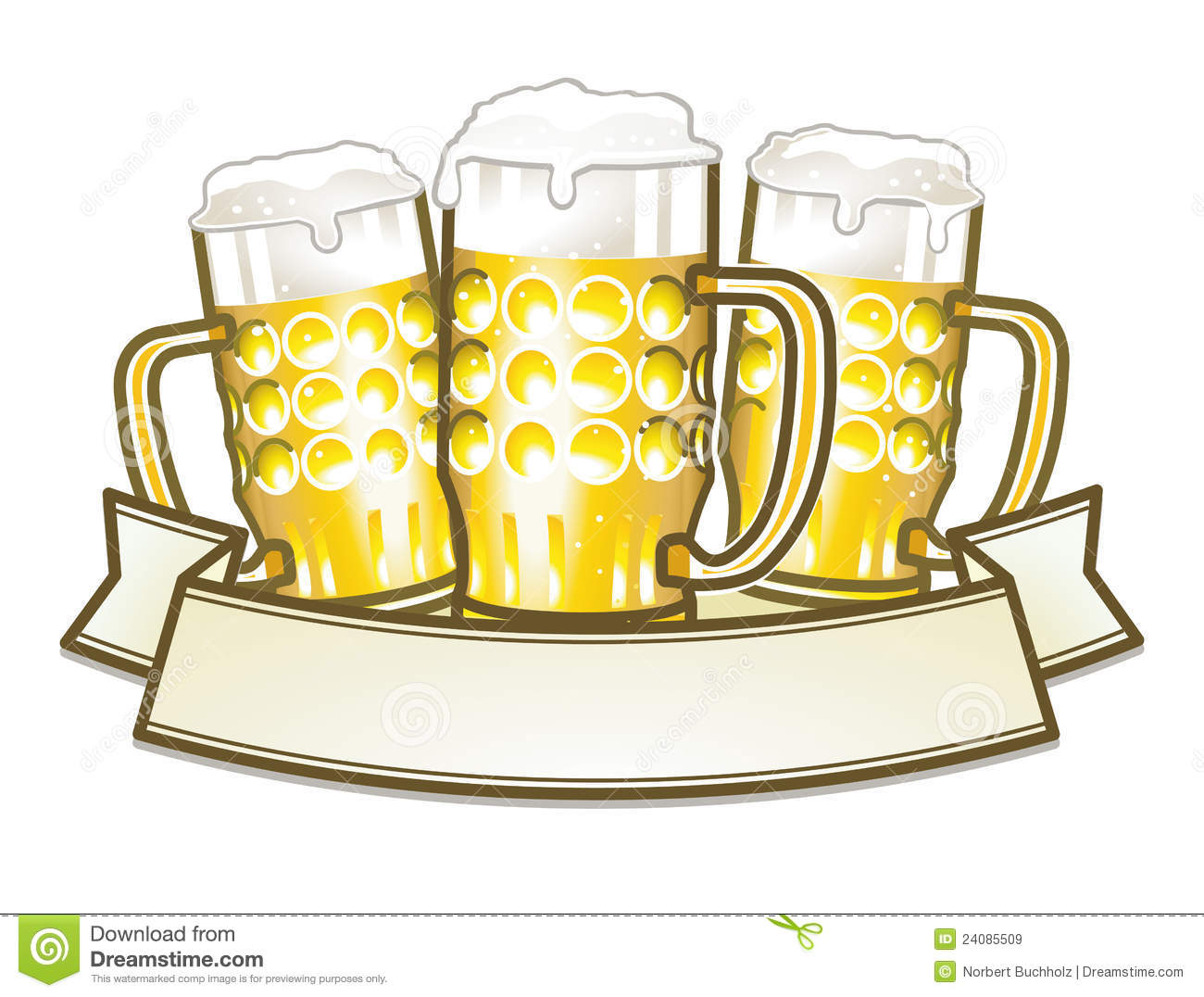 Beer Stein Clipart - Synkee