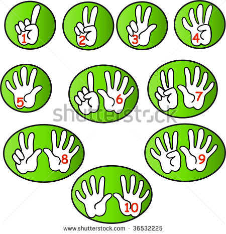 Count To 10 Clipart - Clipart Kid