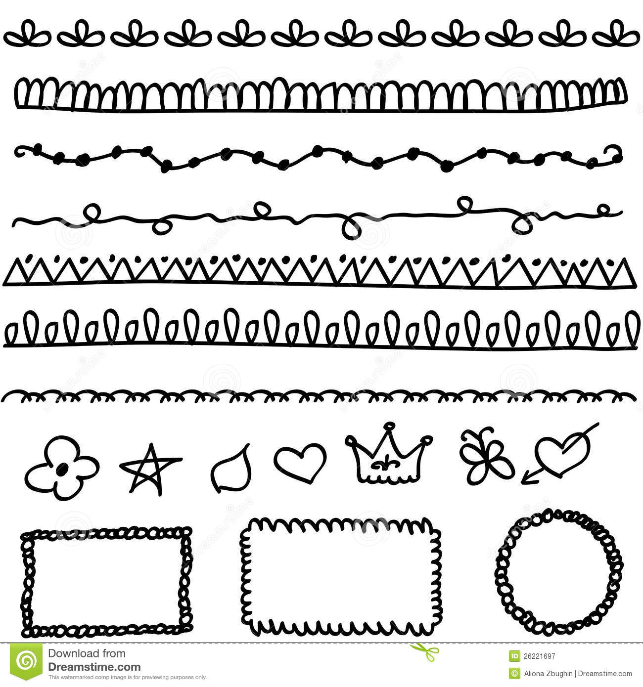Doodle line clipart clipart suggest for Doodly free