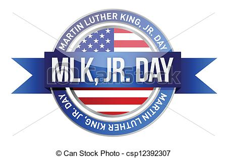 Martin Luther King Jr Holiday Clip Art