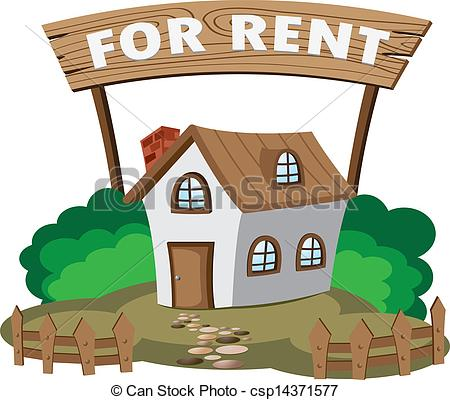 Room For Rent Clipart Vector   House For Rent