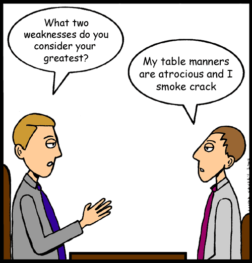 Unwise Thing To Say At A Job Interview
