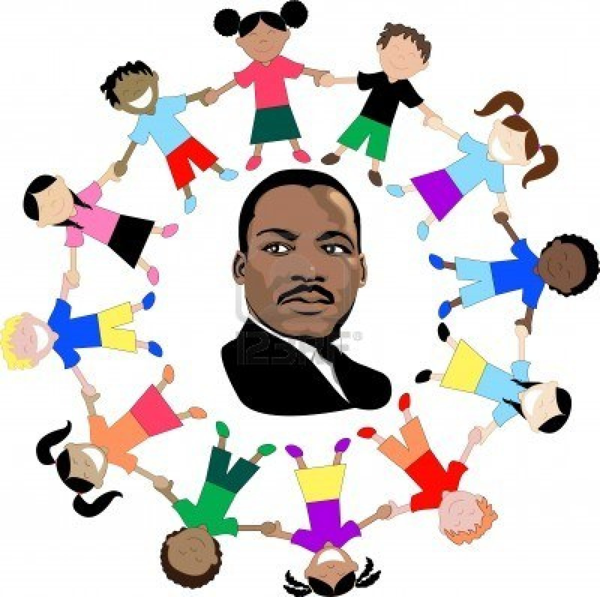 Clipart Of Martin Luther King Jr